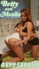 Meet the beautiful Betty&Monika in Dublin City Centre North  with just one phone call